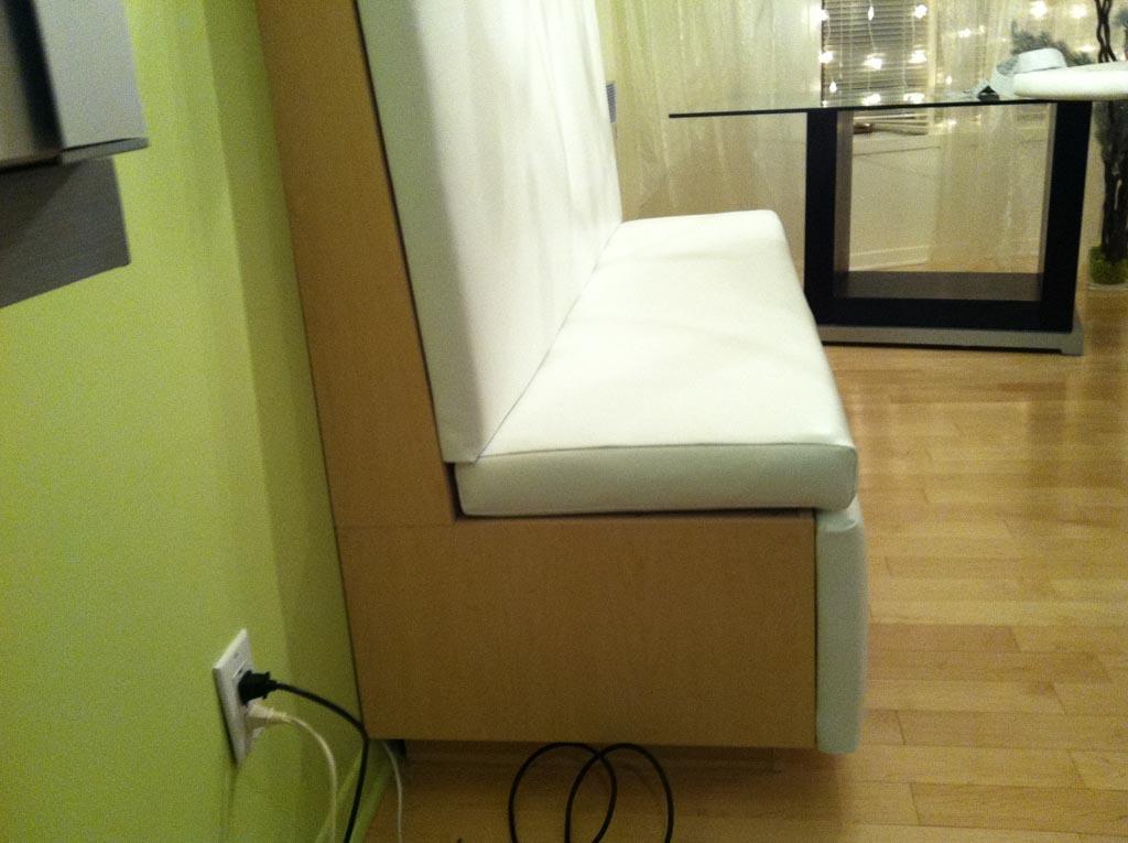 banquette cuisine sur mesure. Black Bedroom Furniture Sets. Home Design Ideas