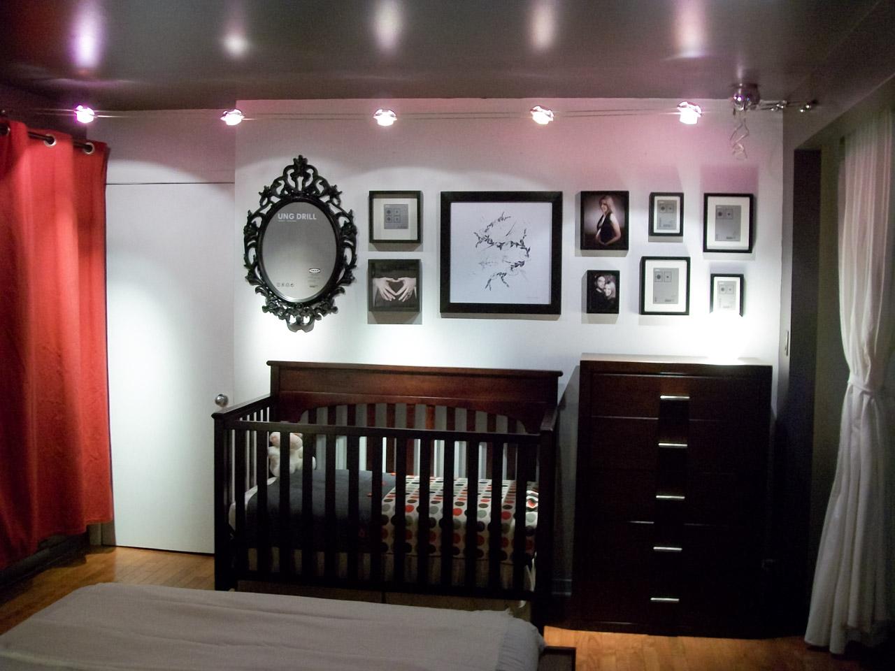 clairage chambre bb pour le nouveau membre de la famille dans le loft - Eclairage Chambre Bebe