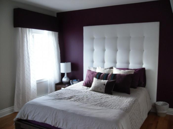Une t te de lit qui se d marque - Tete de lit chambre ado ...