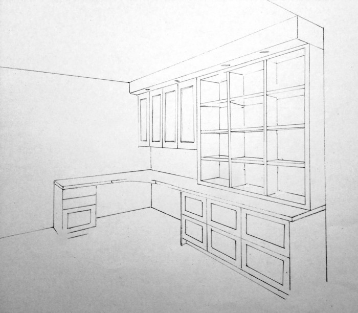 Bureau la maison for Bureau concept la sarre