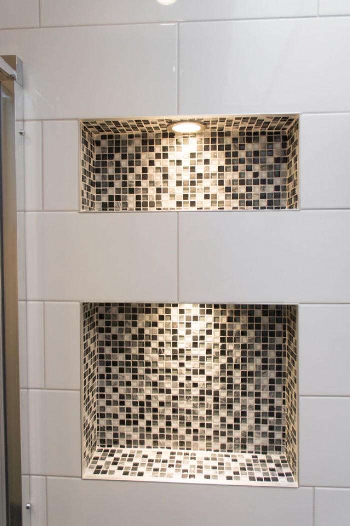 Une douche ensoleill e for Ceramique murale salle de bain